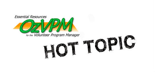 In search of the 'perfect' volunteer program manager