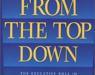 BOOK REVIEW: From the Top Down: The Executive Role in Successful Volunteer Involvement, 3rd ed