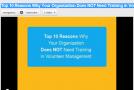 Top 10 reasons…
