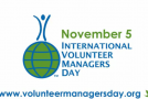 Volunteer Managers Day is November 5